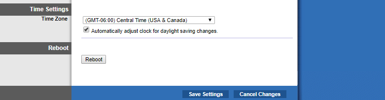 Save Settings
